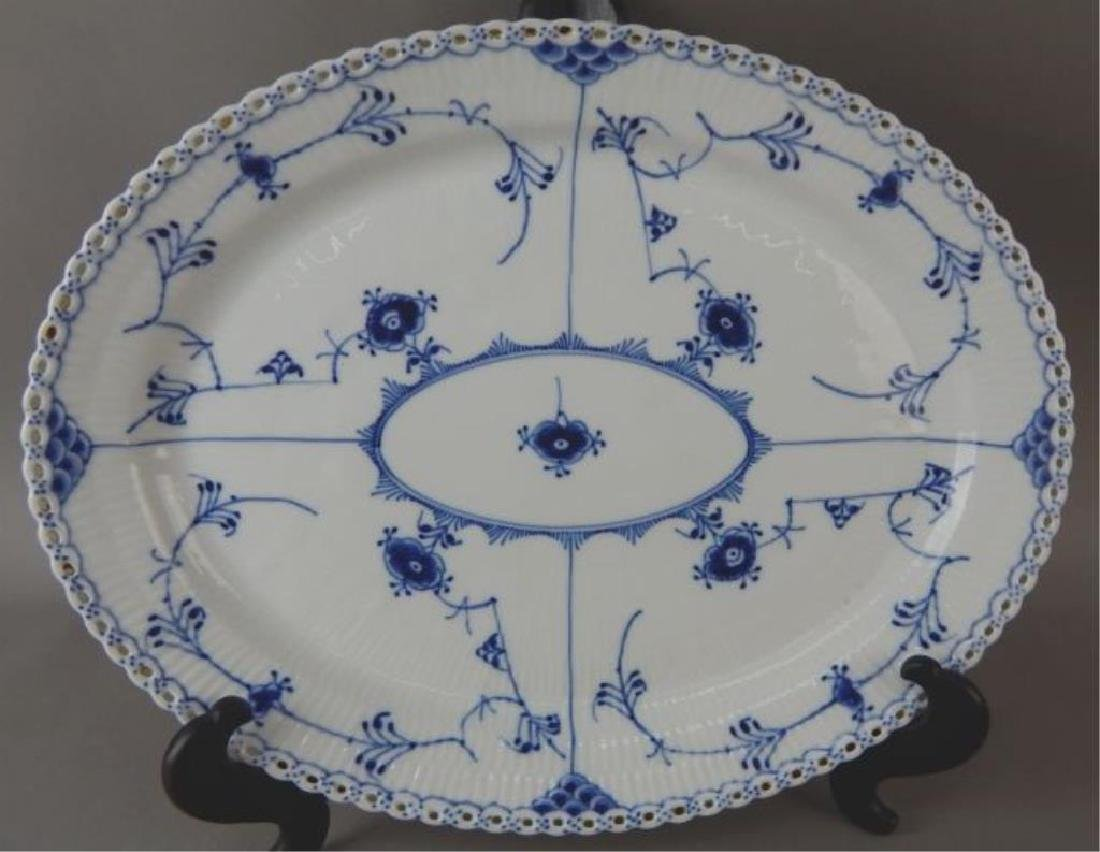 Royal Copenhagen Reticulated Platter