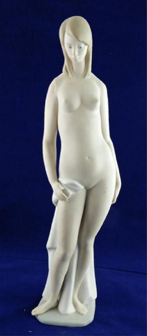 Italian Porcelain Tall Nude Girl