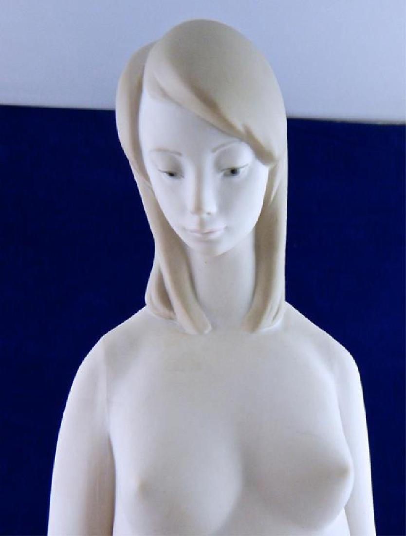 Italian Porcelain Tall Nude Girl - 2