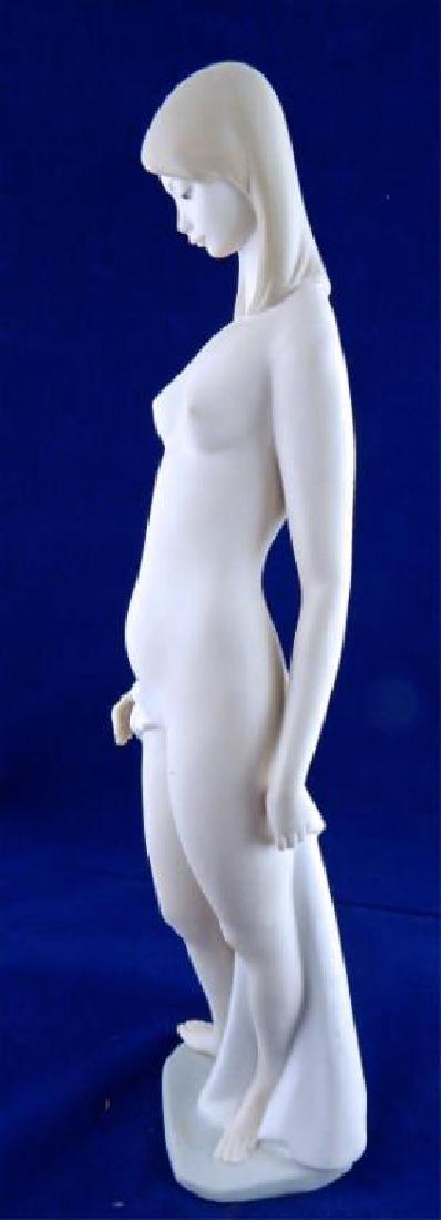 Italian Porcelain Tall Nude Girl - 3