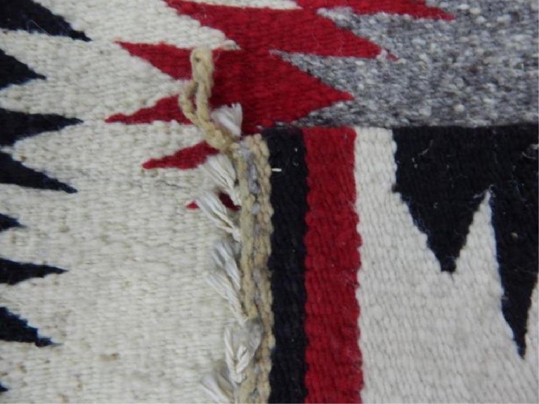 "Native American Hand Made Rug 38"" x 19"" - 2"