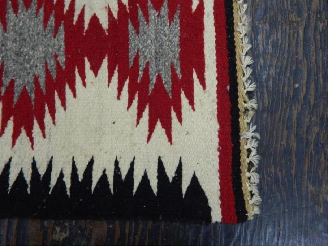"Native American Hand Made Rug 38"" x 19"" - 3"