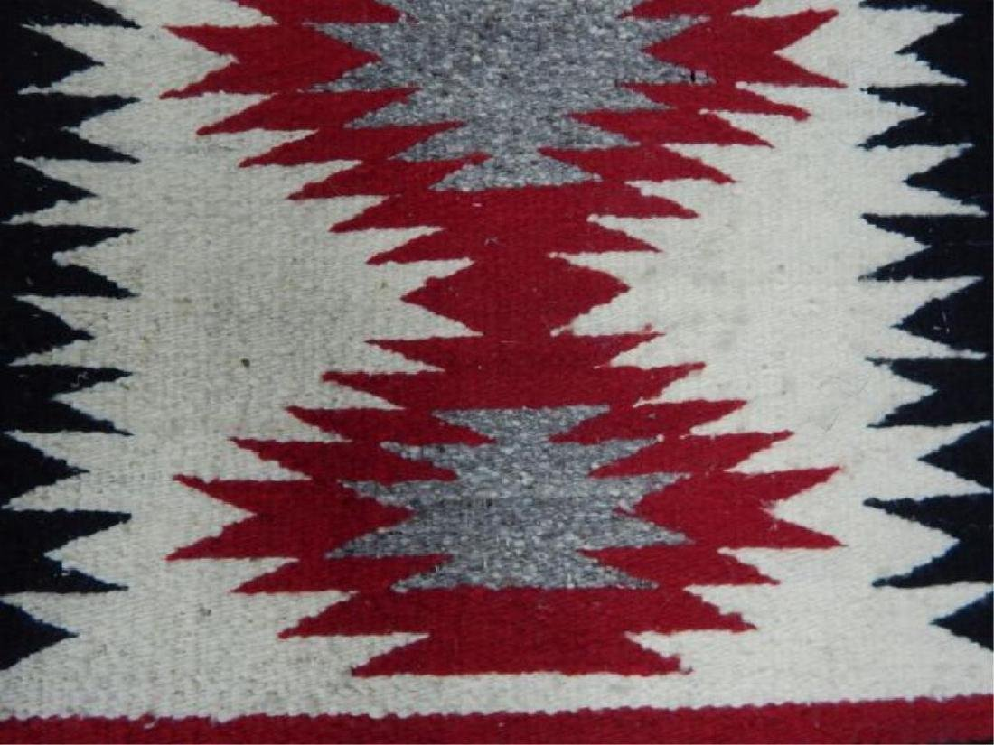 "Native American Hand Made Rug 38"" x 19"" - 4"
