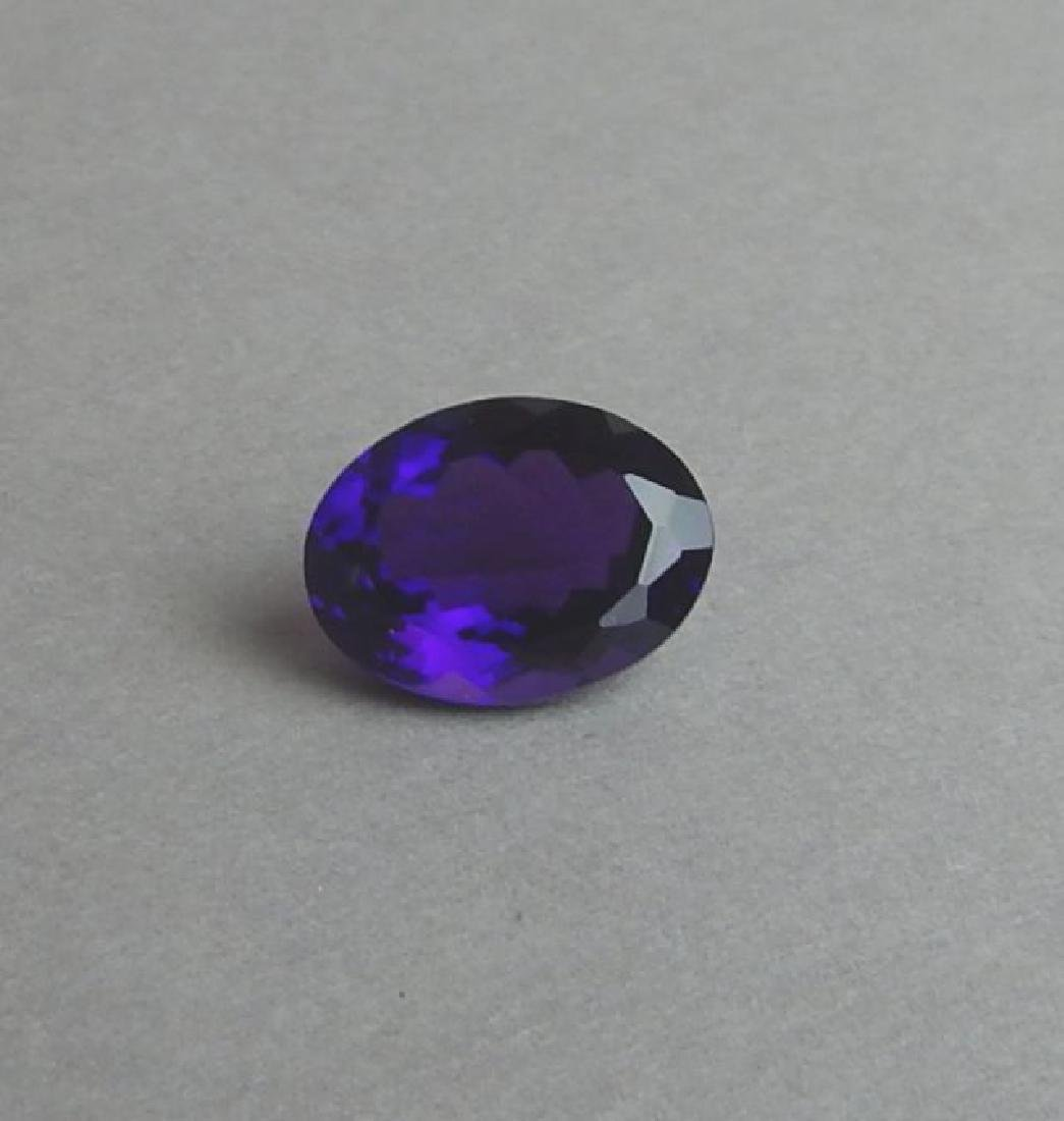 Certified 8.78 CT Natural Amethyst
