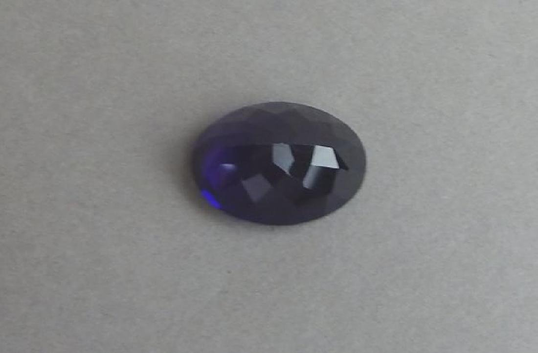 Certified 8.78 CT Natural Amethyst - 3