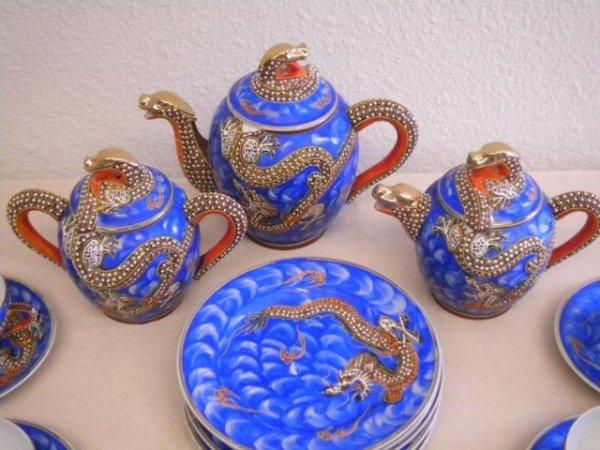 3: A3-1 SATSUMA LITHOPANE TEA SET