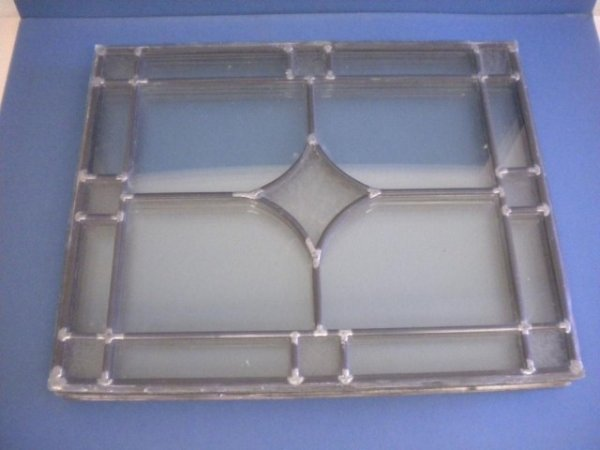 4: A5-194  6 PANES OF LEADED GLASS