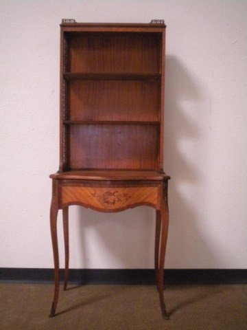 1312: A22-12 CIRCA 1920 FRENCH SATINWOOD STAND