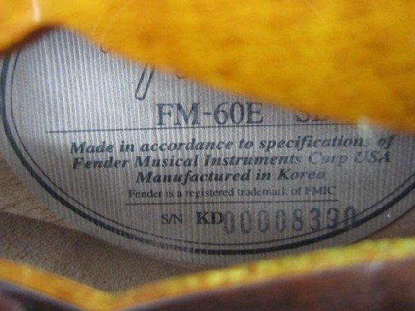 49: C2-8 RARE FENDER ELECTRIC MANDOLIN / UKULELE - 5