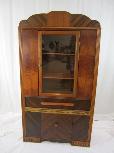 4: D22-1 WATERFALL CHINA CABINET