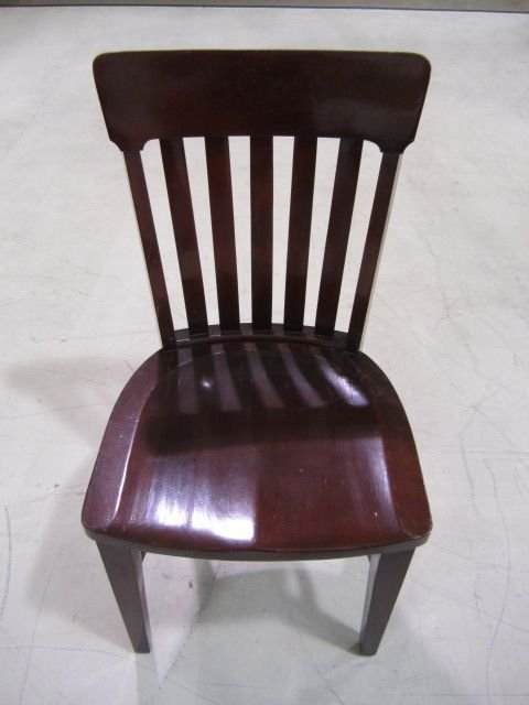 7D: A5-5 SET OF 12 MAHOGANY CHAIRS