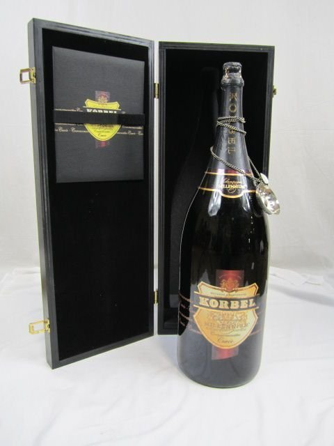 520A: A18-37 LARGE KORBEL MILLENIUM LIMITED EDITION 200