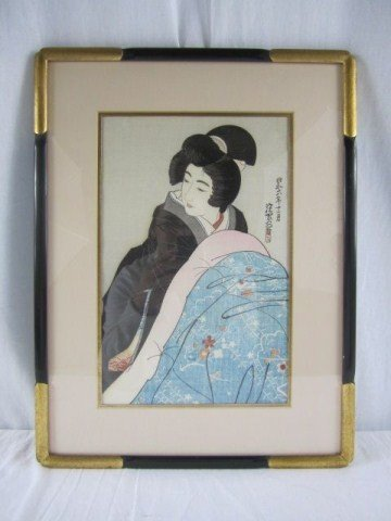 519A: A3-6 JAPANESE WOMAN BY SHINSUI ITO