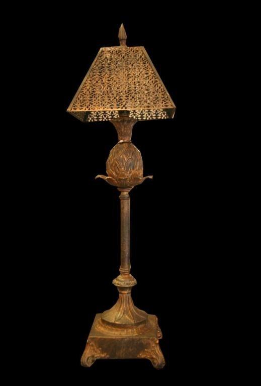2: (C27-0041) TROPICO  SHORT TABLE LAMP