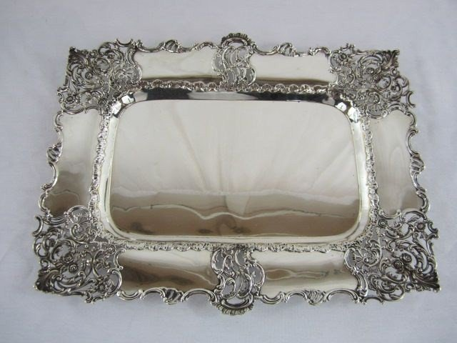 550: A22-5 VINTAGE GORHAM & CO STERLING SILVER TRAY