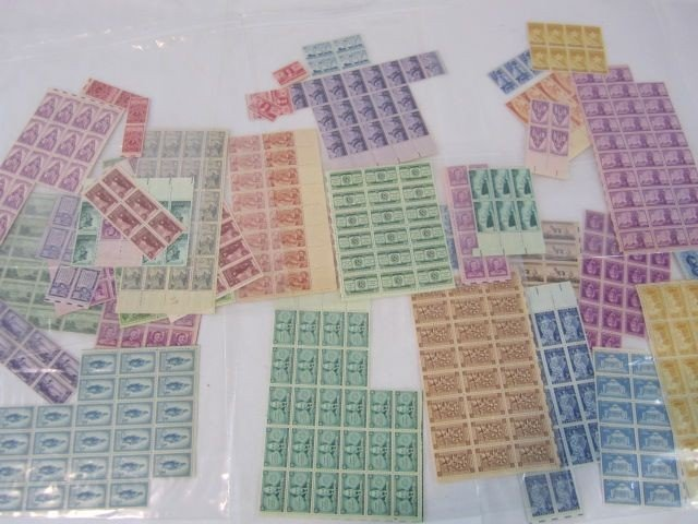 10: C93-47   7 PLASTIC BAGS WITH ASSORTED STAMPS