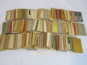 "13: C93-41  BOX LOT OF 154 ""LITTLE BLUE BOOKS"""