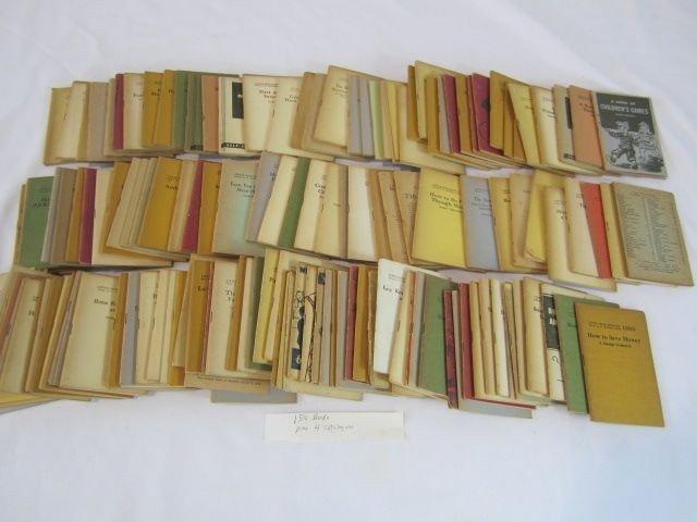"13: C93-41  BOX LOT OF 154 ""LITTLE BLUE BOOKS"""