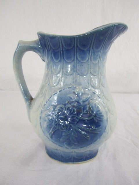 107: C99-5  SMALL BLUE PITCHER