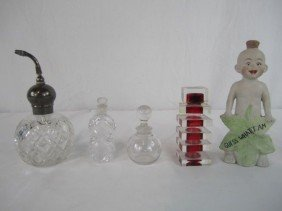 518: A44-144  LOT OF 5 ASSORTED PERFUMES