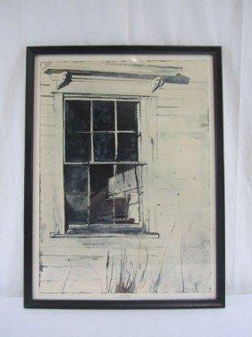 A5-1  WEST WINDOW PRINT