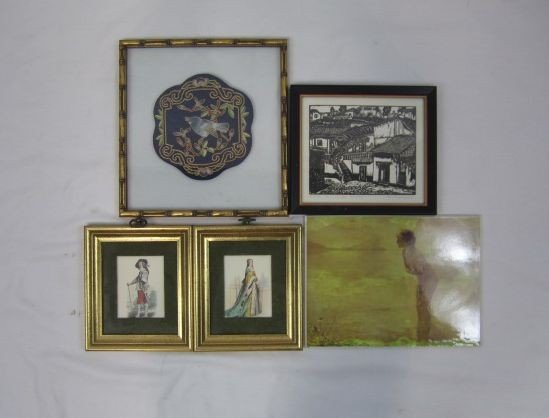 228: F3-25  LOT OF 5 ASSORTED PICTURES