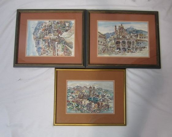 229: F3-26  LOT OF 3 ASSORTED PICTURES