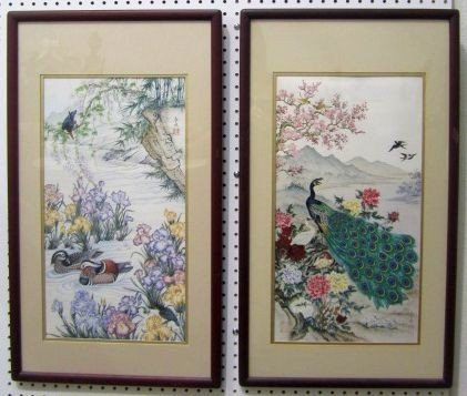 255: F3-29  SET OF 2 ORIENTAL PICTURES