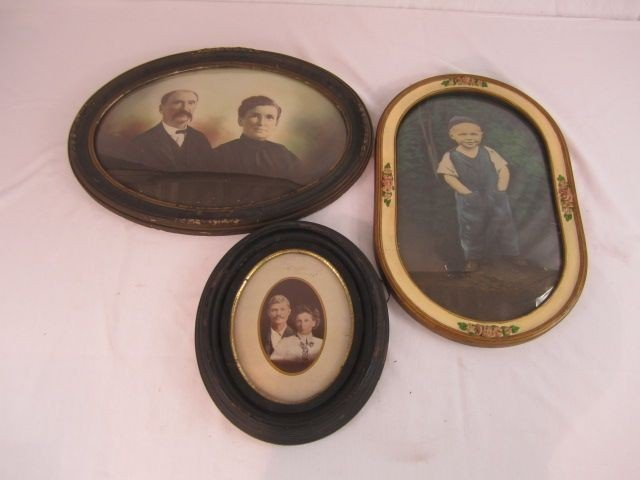 138: C11-25  THREE FRAMED PICTURES