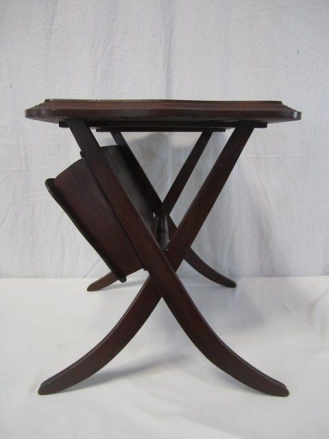 237: C80-6  FOLDING MAGAZINE TABLE