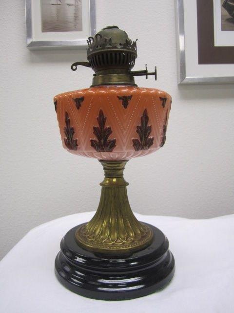 67: C78-2  OLD 1800 OIL LAMP