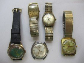 C78-27  LOT OF 5 WATCHES