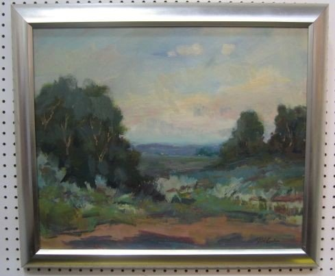 152: C28-1  PAUL CASEBEERS SIGNED OIL ON BOARD
