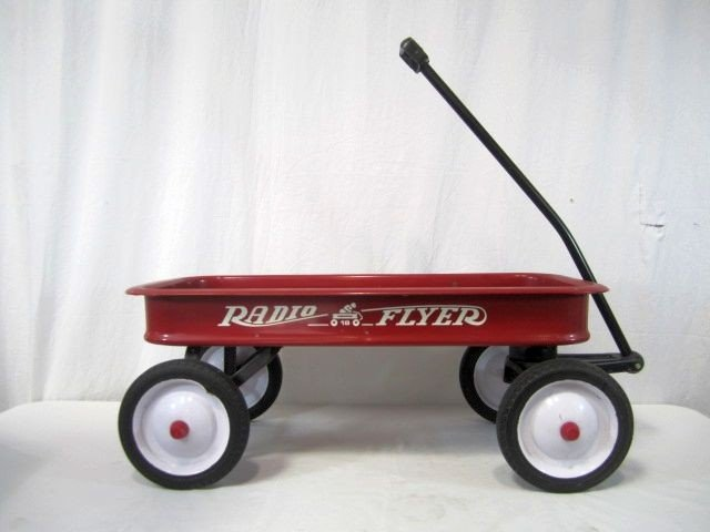 510 D31 1 Vintage Radio Flyer Red Wagon
