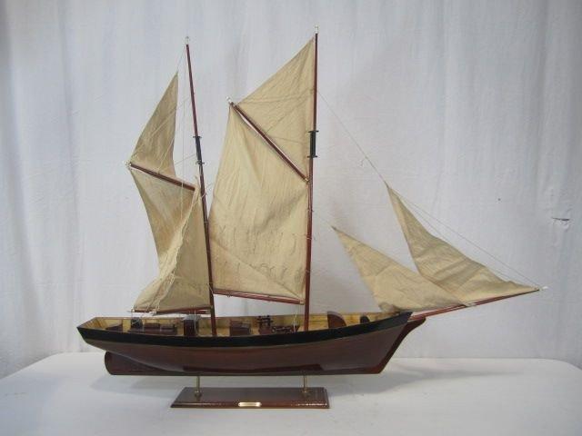 521: C98-26  NUEVO CORAZON 1885 WOODEN MODEL SHIP