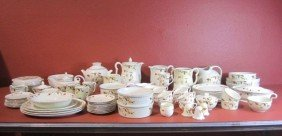 F34-1  ASSORTED 81PCS JEWEL TEA CHINA SET
