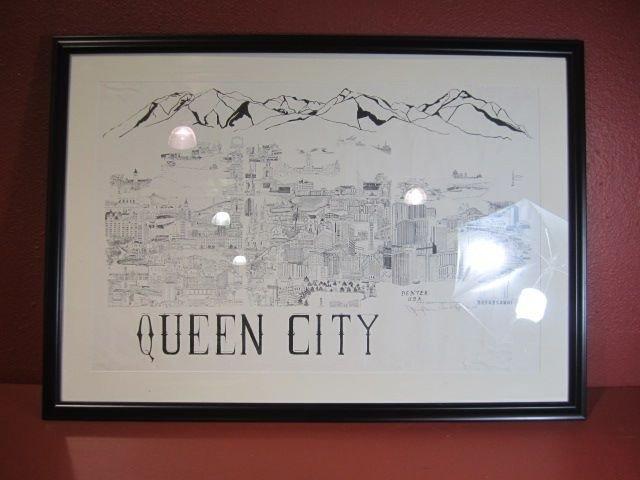 40: F35-2  QUEEN CITY OF DENVER PENCIL