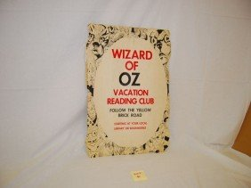 6: WIZARD OF OZ VACATION READING CLUB POSTER