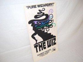 """""""Pure Wizardry"""" Poster 1974 Shubert Theatre"""