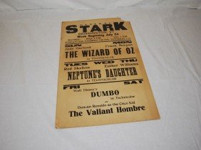 12: General Stark Matinee The Wizard of Oz Poster