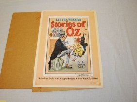 Little Wizard Stories Of Oz Poster Signed