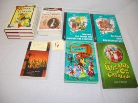 16: WIZARD OF OZ BOOK LOT L. FRANK BAUM