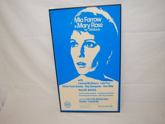 19: MIA FARROW IN MARY ROSE BY J.M. BARRIE POSTER