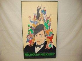 CHARLES DICKENS NICHOLAS NICKLEBY POSTER