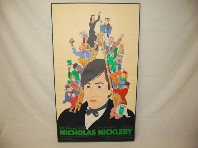 20: CHARLES DICKENS NICHOLAS NICKLEBY POSTER