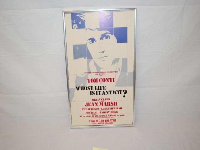 "21: TOM CONTI ""WHOSE LIFE IS IT ANYWAY?"" THEATRE POSTE"