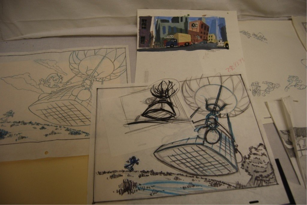 316: THE OZ KIDS ANIMATION AD DRAWINGS & CONCEPTS - 4