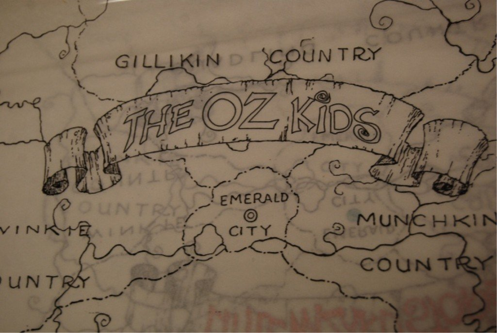 316: THE OZ KIDS ANIMATION AD DRAWINGS & CONCEPTS - 9