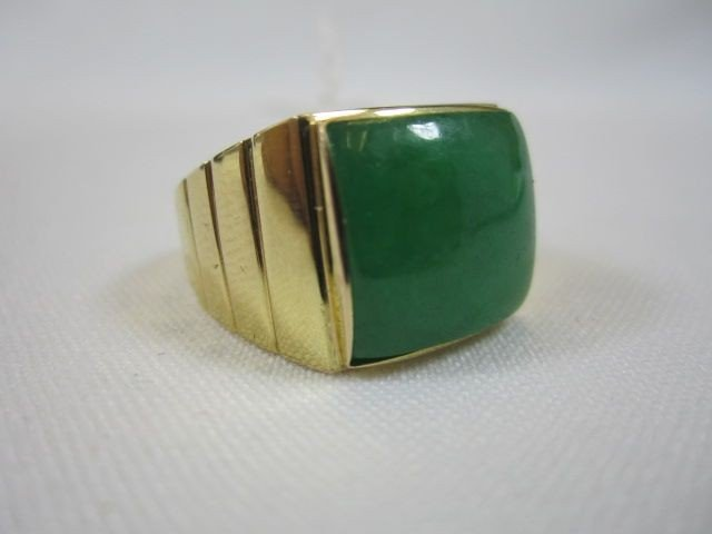 118: A27-3   14K YELLOW GOLD RING