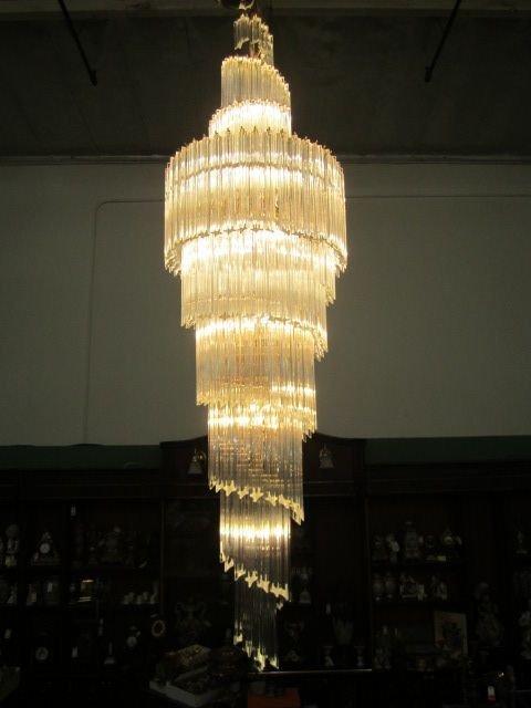 G6 1 crystal spiral chandelier 176 g6 1 crystal spiral chandelier arubaitofo Choice Image